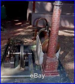 Antique German Toy Steam Engine