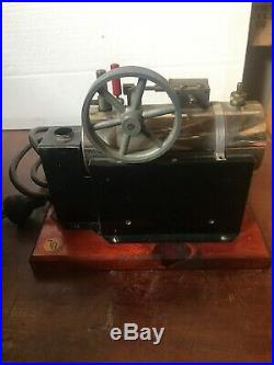 Antique Jensen Toy Electric Steam Engine, Style #35