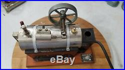 Antique Jensen Toy Electric Steam Engine, Style #35, Excellent & Works Great