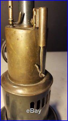 Antique Krauss & Mohr Circa 1900 Toy Steam Engine Burner Nice Example