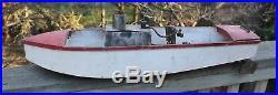 Antique Live Steam Engine Boat 31