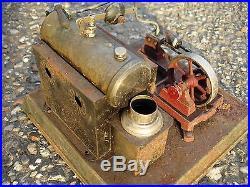 Antique Live Steam Engine Toy Ernerst Ernst Plank Dampfmachine 1900's