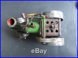 Antique Mamod English Steam Engine Tractor Roller Toy Estate Restorer Delight