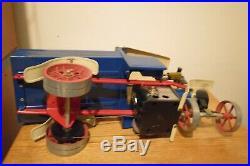 Antique Mamod Live Steam Engine Dump Truck
