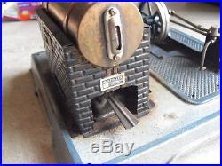 Antique Marklin Germany 5 Horizontal Steam Engine 11x11 Base