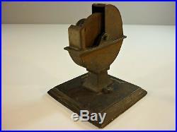Antique Miniature Steam Engine Accessories 3 Rare Toy Tools Lathe Grinder Punch