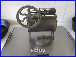 Antique Peerless Live Steam Engine Side Configuration Original Condition wBurner