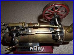 Antique STEAM ENGINE on Cast Iron Base QUALITY Made withMany Valves