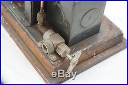 Antique Steam Engine Toy Ernst Plank Germany Hercules Old Original Live Metal