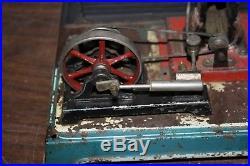 Antique Steam Engine Toy, For Restoration, Generator, Etc