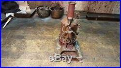 Antique Steam Engine Toy Upright Bottle Type Restoration Project