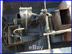 Antique Steel Tin Hull Live Steam Engine Model USS Maryland