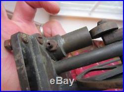 Antique TOY STEAM ENGINE PART generator TURBINE as-is REPAIR motor BRASS vintage
