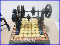 Antique Tin Toy Steam Engine Accessories