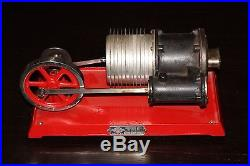 Antique Toy Hot Air Steam Engine 110V 376 Watts B38 Empire Metal Ware USA