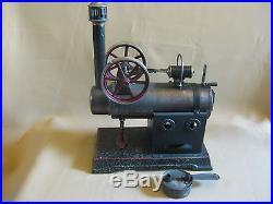 Antique Toy Steam Engine Josef Falk 1920