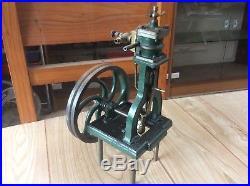 Antique Vertical Live Steam Engine