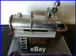 Antique Vintage 1960's Wilesco D16 Live Steam Engine Tin Toy