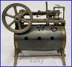 Antique Vintage Steam Engine by Weeden Mechanical Toy As Is Broken