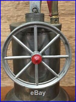 Antique Vintage Weeden Model #238 Steam Engine Toy Original Makers Label