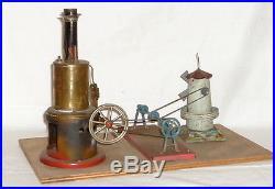 Antique Volleyball steam engine Steamtoy Tin toy Steam toys Steam tintoy US