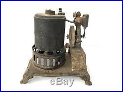 Antique WEEDEN Mfg Co. STEAM ENGINE Toy