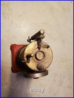 Antique WEEDEN STEAM ENGINE TOY As Found Restoration Project Upright Turns Free