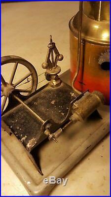 Antique Weeden #123 Upright Steam Engine Toy