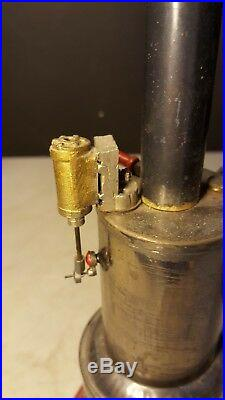 Antique Weeden # 41 Steam Engine Toy w Burner Nice Example
