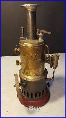 Antique Weeden Big Giant Toy Steam Engine Project