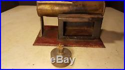 Antique Weeden Horizontal Steam Engine Toy Early and Uncommon