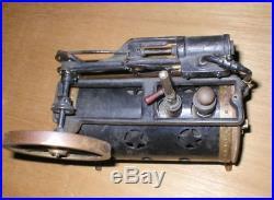 Antique Weeden Model 34 Steam Engine For Repair Or Parts