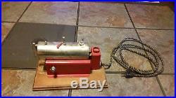 Antique Weeden model #43 Electric Steam Engine Hobby Toy