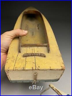 Antique Wood Steam Engine Boucher Era Pond Boat 24