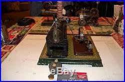 Antique bing steam engine doll weeden marklin plank steam toy