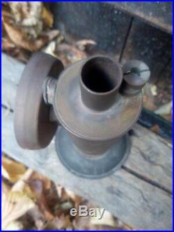 Antique live steam turbine engine brass toy model