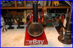 Antique steam engine doll plank falk bing