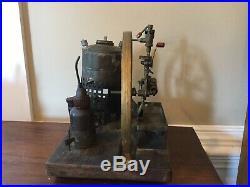 Antique steam engine toy