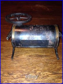 Antique toy steam engine