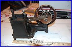 Antique toy steam engine Ohio vacuum engine. Doll weeden Bing hot air engine