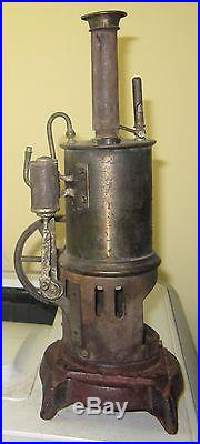 Antique upright steam engine cool piece