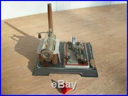 Antique used Wilesco D16 Dampfmmaschine Steam Engine Toy