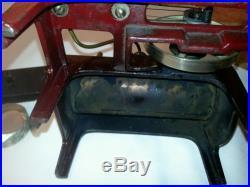 Antique vintage steam engine toy Weeden manufactured