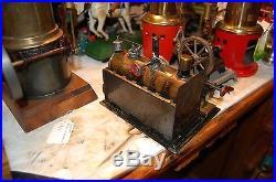 Antique weeden #7 steam engine bingplank carette