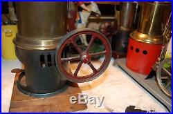 Antque toy steam engine doll weeden bing