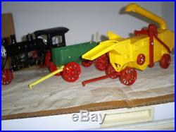 Avery Steam Engine withTender and Thresh Machine, 3 Pieces