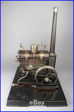 Awesome vintage big MARKLIN D 9 live steam engine, pre war