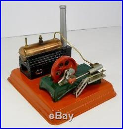 BEAUTIFUL MARX J-2734 LINEMAR STEAM ENGINE SET With ACCESSORIES AND ORIGINAL BOX