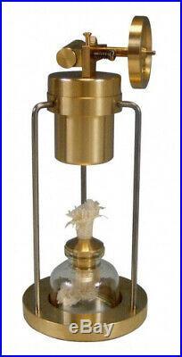 (BJ001) Sunnytech Mini Hot Live Steam Engine Brass Model Education Toy Kits