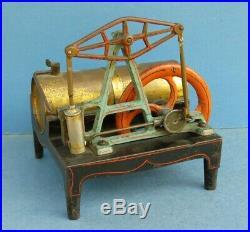 BUCKMAN BEAM toy STEAM ENGINE c1880s Excellent original condition